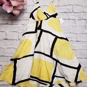 Rubber Ducky Productions Yellow Black ,White Dress